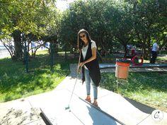 Cristiana Lifestyle: Turistando pelo Porto | Mini Golfe