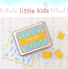 Little Kids collection DIY Rubber Stamp / Value Set by PapergeekMY, $5.00