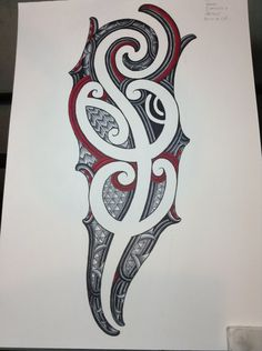 Ta Moko Designs | ta moko sleeve design by Jayme-Watene