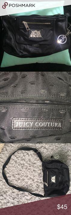 Juicy couture crops body handbag Black cross body juicy couture handbag (medium size) Juicy Couture Bags Crossbody Bags