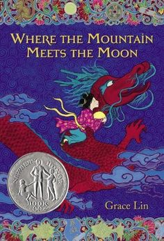 Where the Mountain Meets the Moon -- Newbery Honor Book.  Best kids book I've read in awhile.  Amazing the lessons you learn from your kids.