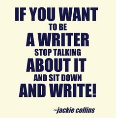 Being a writer is lots of fun; try it if you haven't yet! It isn't for everyone, but I think that it is amazing! :D
