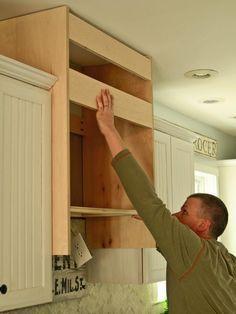 How to Construct a Custom Kitchen Range Hood : Rooms : Home & Garden Television Ikea Range Hood, Diy Hood Range, Custom Range Hood, Range Hood Cover, Range Hood Insert, Kitchen Vent Hood, Kitchen Stove, Kitchen Redo, Kitchen Ideas