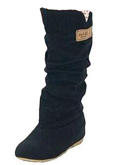 MEXI 2015 Winterschneeaufladungen Schaffell-Stiefel Schnee Baumwoll-Slip-Sehne Schuhe Schneeschuhe Mischfarben ankle Boots Stiletto - http://on-line-kaufen.de/mexi-2/mexi-2015-winterschneeaufladungen-schaffell