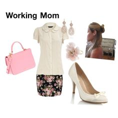 Simple career outfit that makes you feminine.