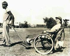 Vintage Golf, Golf Carts, Vintage Photos, Baby Strollers, Bicycle, Baby Prams, Bike, Bicycle Kick, Prams