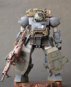 Diving Beetle (Armored Trooper VOTOMS)