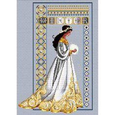Celtic Cross Stitch | Celtic Winter - A cross stitch pattern from Lavender and Lace