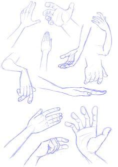 Hand sketches by *LuigiL on deviantART