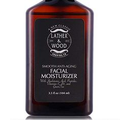 Face Moisturizer for Men - Lather & Wood's Luxurious Sophisticated Mens Moisturizer for the Man's Man. Fragrance-Free Face Cream for Men. Face Cream For Men, Natural Face Cream, Hyaluronic Acid Moisturizer, Moisturiser, Shave Gel, Face Lotion, Best Face Products, Beauty Products, Woods