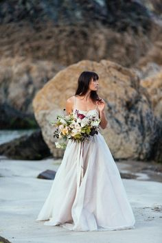 Barefoot Beach Bride Elegance on the Cornish Coast | Love My Dress® UK Wedding Blog