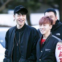 Junhoe's better half Jinani #iKONFairyJinhwanDay • • • {#iKON #ikonic #아이콘 #아이코닉 #진후안 #Jinhwan #KimJinhwan #김진후안 #Junhwan} Ikon Junhoe, Hanbin, Sassy Diva, Wattpad, Korean Bands, Yg Entertainment, Kpop Boy, My Boys, Bobby