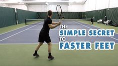 Tennis Gear, Tennis Tips, Free Training, Training Tips, Tennis Techniques, Agility Workouts, How To Play Tennis, Tennis Lessons, Tennis Workout