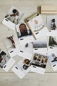 Create your very own personalised wooden calendar - printed on premium smooth fine art cardstock.  The perfect gift idea