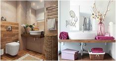 Ideas para pequeños baños modernos. Muebles para baños pequeños. Decoración de baños pequeños. Consejos para decorar cuartos de baño modernos.