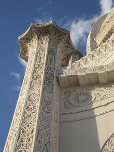 Baha'i Temple, Evanston, IL... I had know idea this was there!  I will definitely be paying this place a visit when I'm back in the states =)