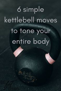 Having a kettlebell is a must for my workout routine! Try it and fall in love!