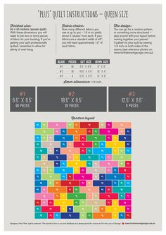 Free_Printable_Plus_Quilt_Instructions_Queen_Size_680