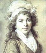 Françoise de Châlus (1734 - 1821). Mistress of Louis XV in 1749, and she may have had children with him.