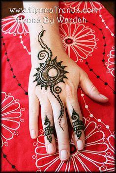Party henna design