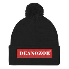 This fun winter beanie is the perfect gift for the Dungeons and Dragons fanatic in your life! Embroidered and comfy, this warm beanie is the perfect addition for any winter wardrobe! This cap is warm and soft, and the pom-pom gives it a playful touch. Make America Kind Again, Cute Beanies, Bobs Burgers, Book Lovers Gifts, Bleu Marine, Knit Beanie, Dungeons And Dragons, The Magicians, Caps Hats