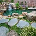 Stepping stones can be used differently in different places for decoration. The common use of stepping stone is to decorate your garden or house in an artistic way to give it a sanctuary like feel in your houses and offices.