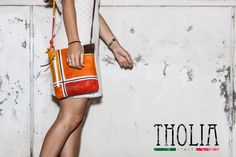 ASTORE BAG ACQUERELLO -  Made In Italy 100% Genuine Leather HANDPAINTED