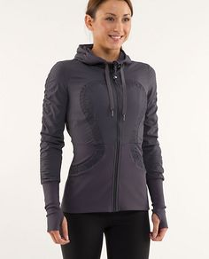 lululemon! They have the best clothes for workout. I love the jackets, they have the thumb hole :)