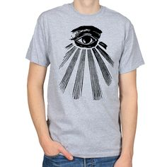 5bf670b3134bbc Items similar to All Seeing Eye T-Shirt