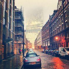 Foggy Folgate Street