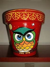 Flower Pot Art, Flower Pot Design, Clay Flower Pots, Flower Pot Crafts, Clay Pots, Painted Plant Pots, Painted Flower Pots, Clay Pot Projects, Clay Pot Crafts