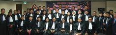 Sidang Terbuka Pelantikan dan Penyumpahan Advokat Indonesia PERADIN Angkatan Ke-enam Pada 12 Oktober  2013 Hotel Sahid  Surabaya.