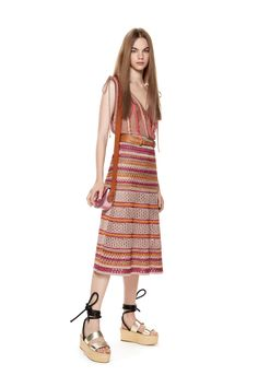 M-Missoni - LUREX TOP & SKIRT