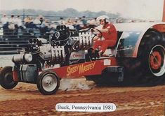 sassy massey pulling tractor | ... one of the most famous tractor pullers the sassy massey 1979 1985