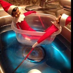 Elf On The Shelf Boat Ride!