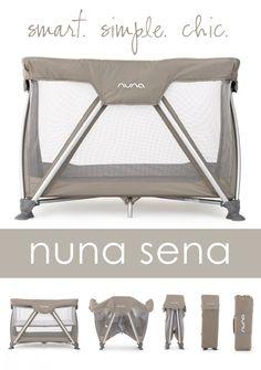 Nuna SENA Travel Cot {Giveaway} - | The Shopping Mama