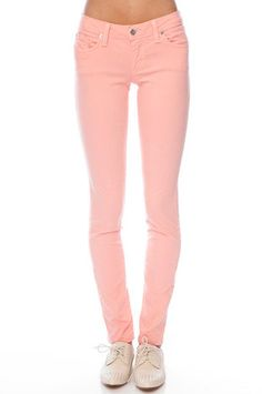 for this spring: salmon pink pastel pants