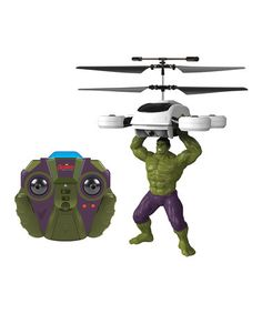 Avengers: Age of Ultron Hulk R.C. Helicopter #zulily #zulilyfinds