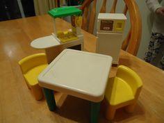 Little Tikes Dollhouse Furniture Kitchen by DandelionBluAntiques, $23.00