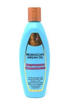 Oil Of Life Moroccan Argan Oil Restoring Conditioner, 8 oz.