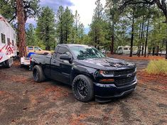 Custom Chevy Trucks, Chevy Pickup Trucks, Lifted Ford Trucks, Chevrolet Trucks, Gmc Trucks, Chevrolet Silverado, Custom Cars, Lifted Chevy, Mini Trucks