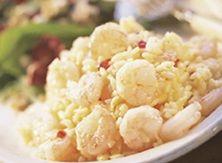 Shrimpalooza!  #Contest Lemon Shrimp Risotto With Salad Fresca