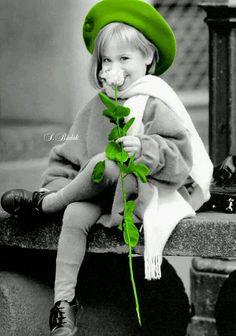 Splash of Colour Splash Photography, Color Photography, Black And White Photography, Cute Babies Photography, People Photography, Black And White People, Black And White Pictures, Color Splash Photo, Black Image