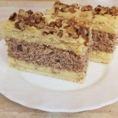 Francia diós mézes – Ez Nem Semmi Poppy Cake, Hungarian Recipes, Tiramisu, Banana Bread, Cheesecake, Food And Drink, Baking, Ethnic Recipes, Desserts