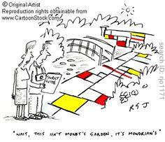 Mondrian's Garden