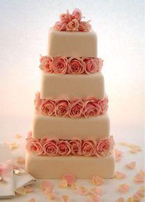 ❤…… Little Venice Cake Company   Gallery   Wedding Cakes   Iced   23 Rose Blush