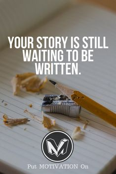 Write your story. Follow all our motivational and inspirational quotes. Follow the link to Get our Motivational and Inspirational Apparel and Home Décor. #quote #quotes #qotd #quoteoftheday #motivation #inspiredaily #inspiration #entrepreneurship #goals #dreams #hustle #grind #successquotes #businessquotes #lifestyle #success #fitness #businessman #businessWoman #Inspirational