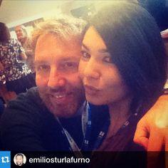 #ElisaDOspina Elisa D'Ospina: #Repost @emiliosturlafurno with @repostapp.・・・#sanremoinside ... Incontro con una amica speciale! #elisadospina #emiliosturlafurno #canzoneitaliana #salastampa #festival #sanremo #sanremo2015
