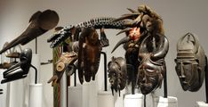 Image result for seattle art museum app African Masks, African Art, Seattle Art Museum, Museum Displays, Animal Sculptures, Wood Sculpture, Clock, Carving, Painting
