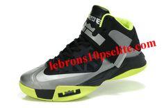 e967d249c33 Nike Zoom Zoom LeBron Soldier 6(VI) Black Gray Green Nike Shoes